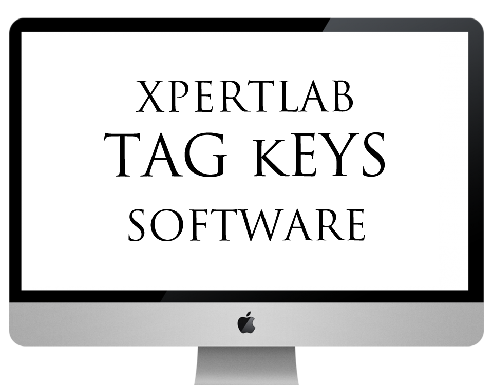 xpertlab-tag keys software